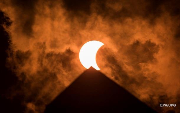 Затемнення сонця 13 липня 2018