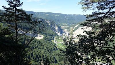 Klus von Rondchâtel oberhalb Frinvillier