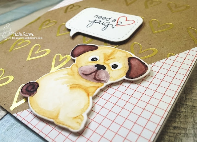 Newton's Nook Designs Pug Hugs Set - Naki Rager
