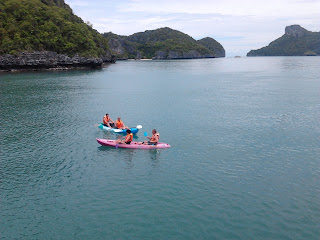 Kayaking in Angthong Marine Park