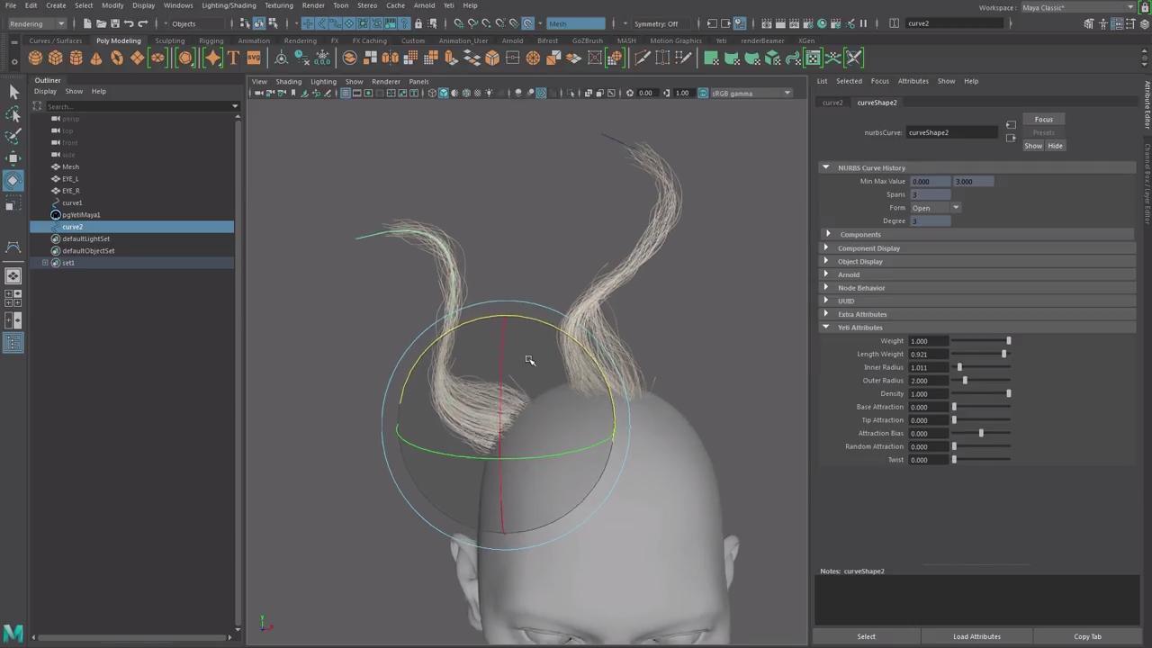 Creating Hairstyles with Yeti Maya & Zbrush | CG TUTORIAL