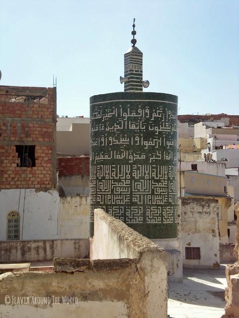 Minarete cilíndrico de Mulay Idris