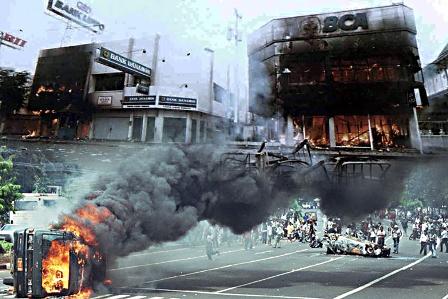 kerusuhan mei 1998 yang menewaskan banyak orang