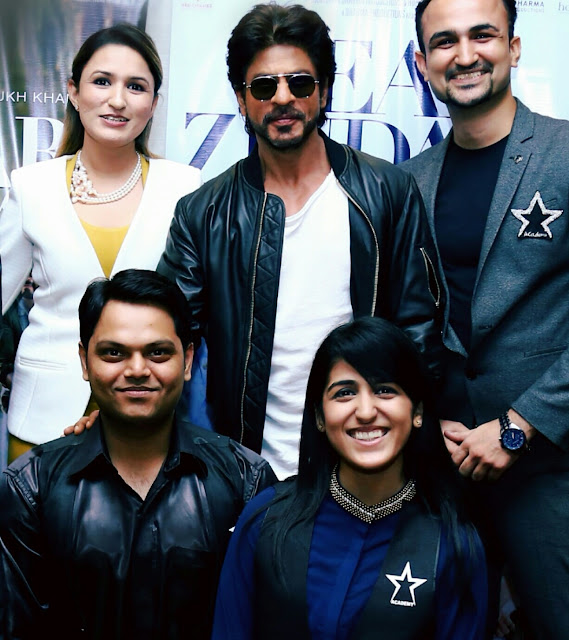 "Star Salon Students getting Starry with Team of Bollywood Blockbuster ""Dear Zindagi"""