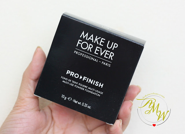 a photo of Make Up For Ever Pro Finish Multi Use Powder Foundation Review