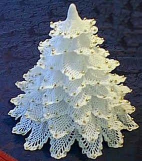 como fazer árvore de natal em croche