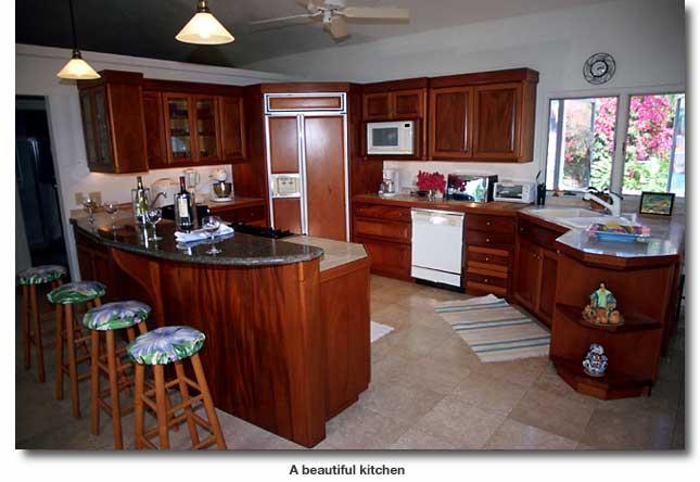 A stock photos beautiful kitchens wallpapers - Model de cuisine americaine ...