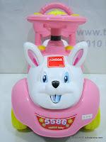 2 Mobil Mainan Aki JUNIOR JB27B Pretty Baby - Small