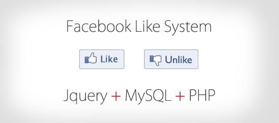 php jquery like begeni sistemi