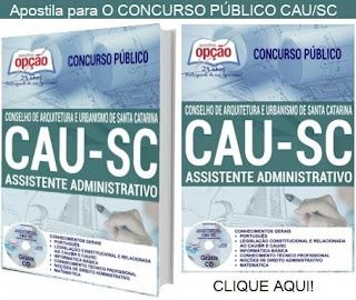 Apostila Assistente Administrativo do CAUSC 2018.