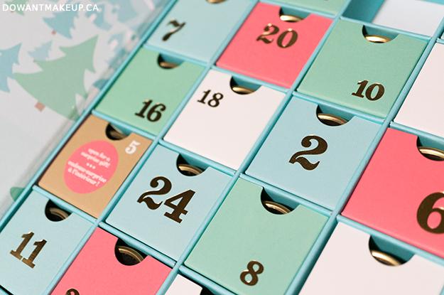 David's Tea 24 Days of Tea Advent Calendar 2016 nail art