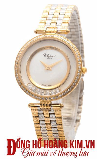 Đồng hồ nữ chopard dây sắt