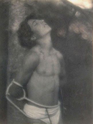 Saint Sebastian, 1906, F. Holland Day