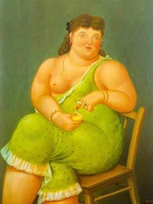 Amélia - Fernando Botero e suas pinturas ~ O pintor das figuras volumosas