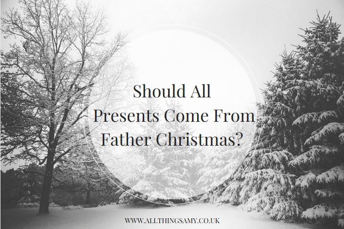 how many presents should i give my children from father christmas?