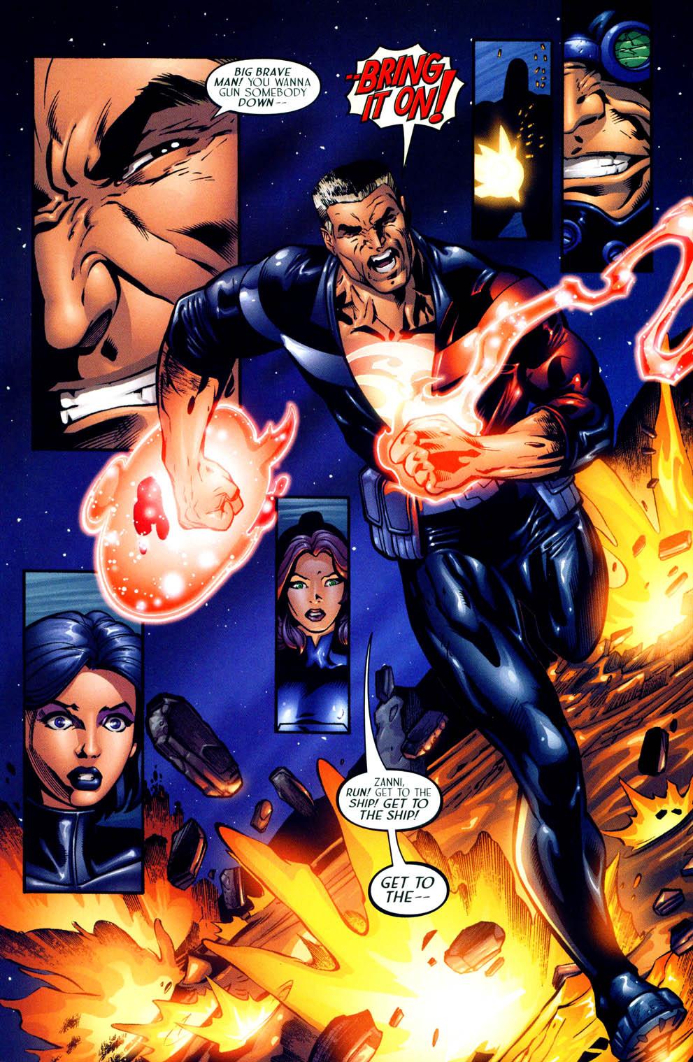 Read online Sigil (2000) comic -  Issue #12 - 18