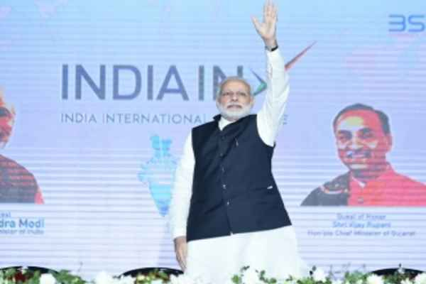 pm-modi-inaugurated-first-international-exchange-in-gujarat