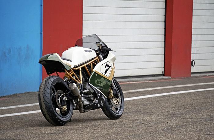 custom Ducati 900SS Distinto cafe racer