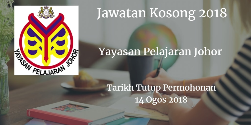 Jawatan Kosong YPJ 14 Ogos 2018