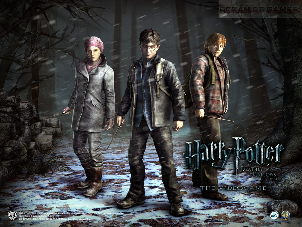 Harry potter and deathly hallows game download.