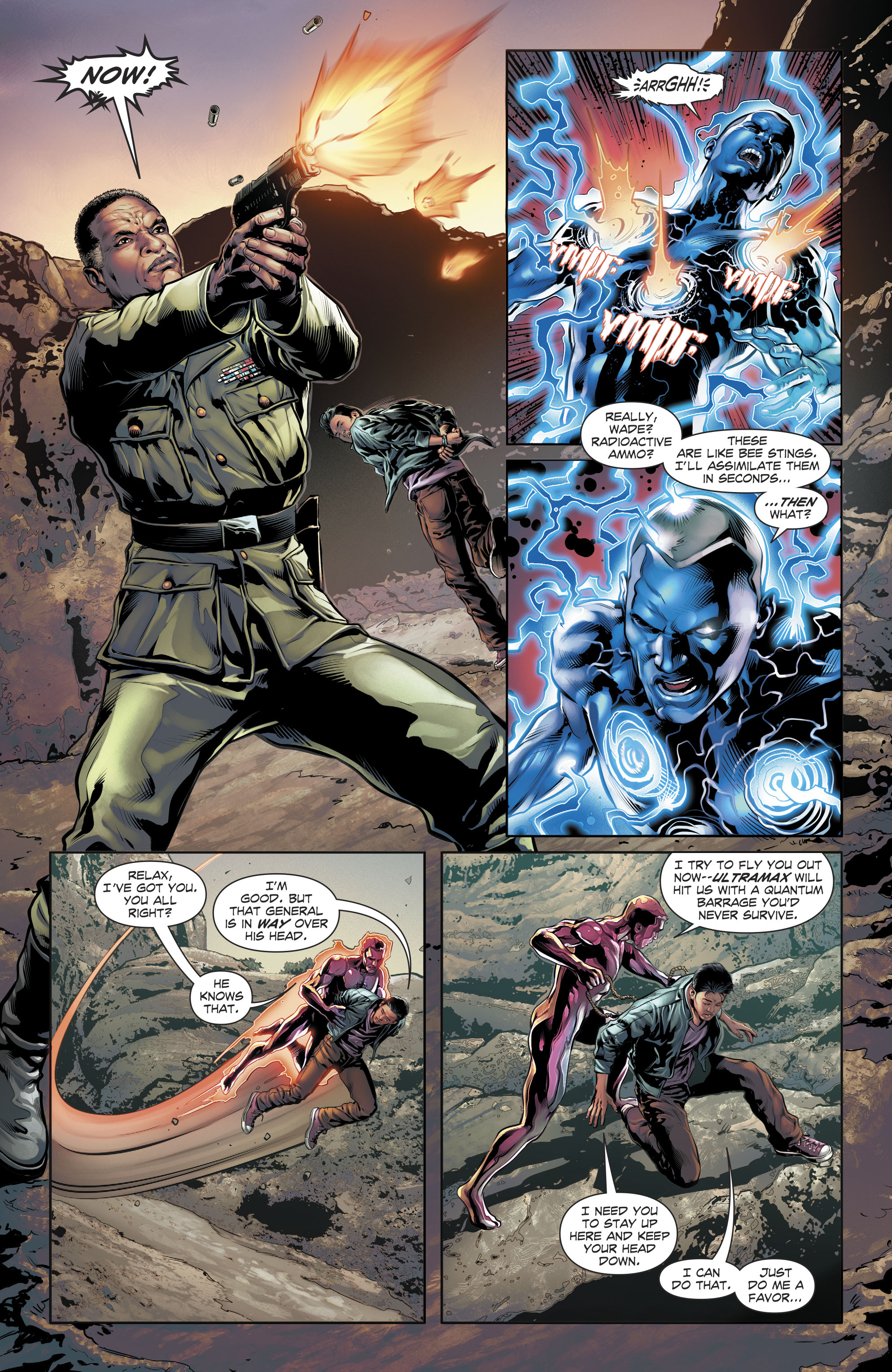 Read online The Fall and Rise of Captain Atom comic -  Issue #6 - 13