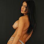 Andrea Rincon, Selena Spice Galeria 19: Buso Blanco y Jean Negro, Estilo Rapero Foto 126