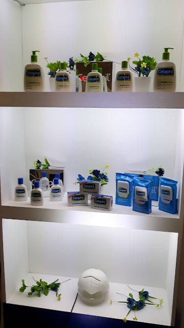 Cetaphil products include Gentle Skin Cleanser, Oily Skin Cleanser, Gentle Skin Cleansing Cloth, Gentle Cleansing Bar (also comes in antibacterial variant), Moisturizing Lotion, Restoraderm Skin Restoring Body Wash...