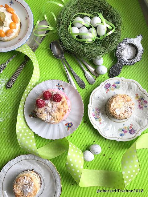 kleine fruchtige Obsttörtchen Quark Joghurt