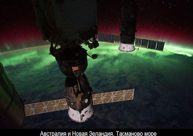 Ночная Земля из космоса 3