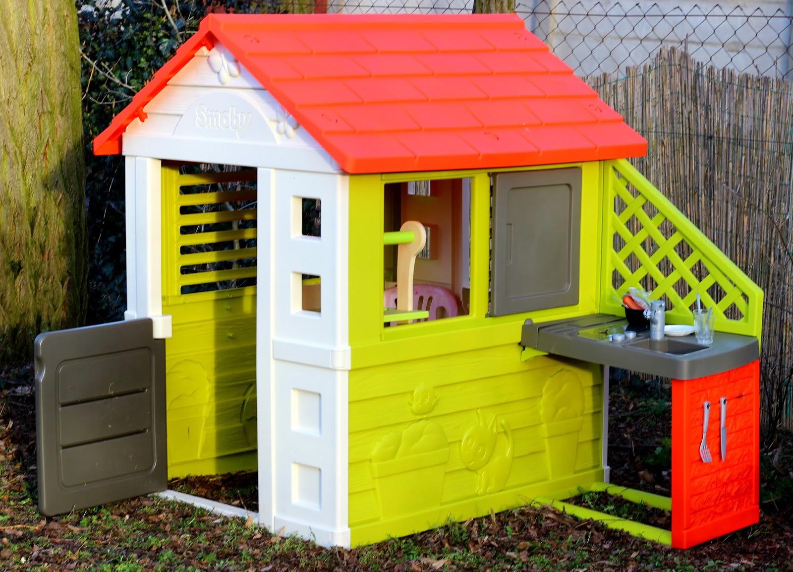 Sommerküche Smoby : Einzug ins neue heim unser naturhaus von smoby apfelbäckchen