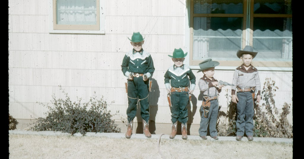 vintage everyday: Gunslingers, Levelland, Texas, 1956