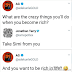Chats Adekunle Gold and a follower who vowed to take his wife Simi Gold from him when he becomes rich