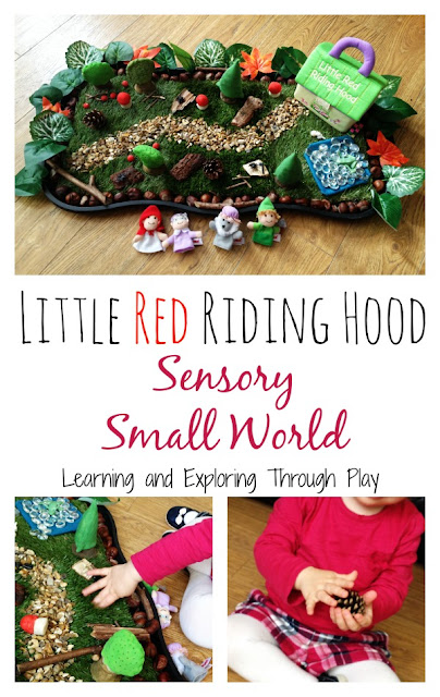 Small World Sensory Play by Learning and Exploring Through Play