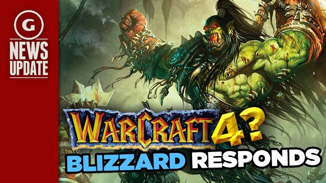warcraft 4 - blizzard responds