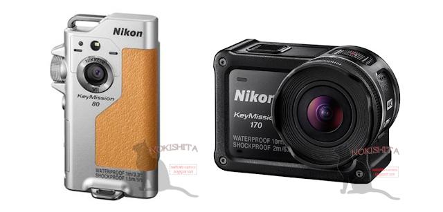 Nikon 將再推出兩款 KeyMisson 運動攝影機,圖片來源:擷取自 Nikon Ruomrs 網站