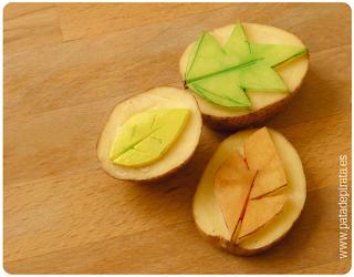 Resultado de imagen de sello patata