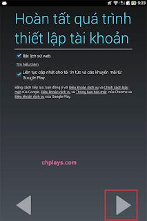 Hướng dẫn cách đăng ký tài khoản CH PLay trên điện thoại Android g