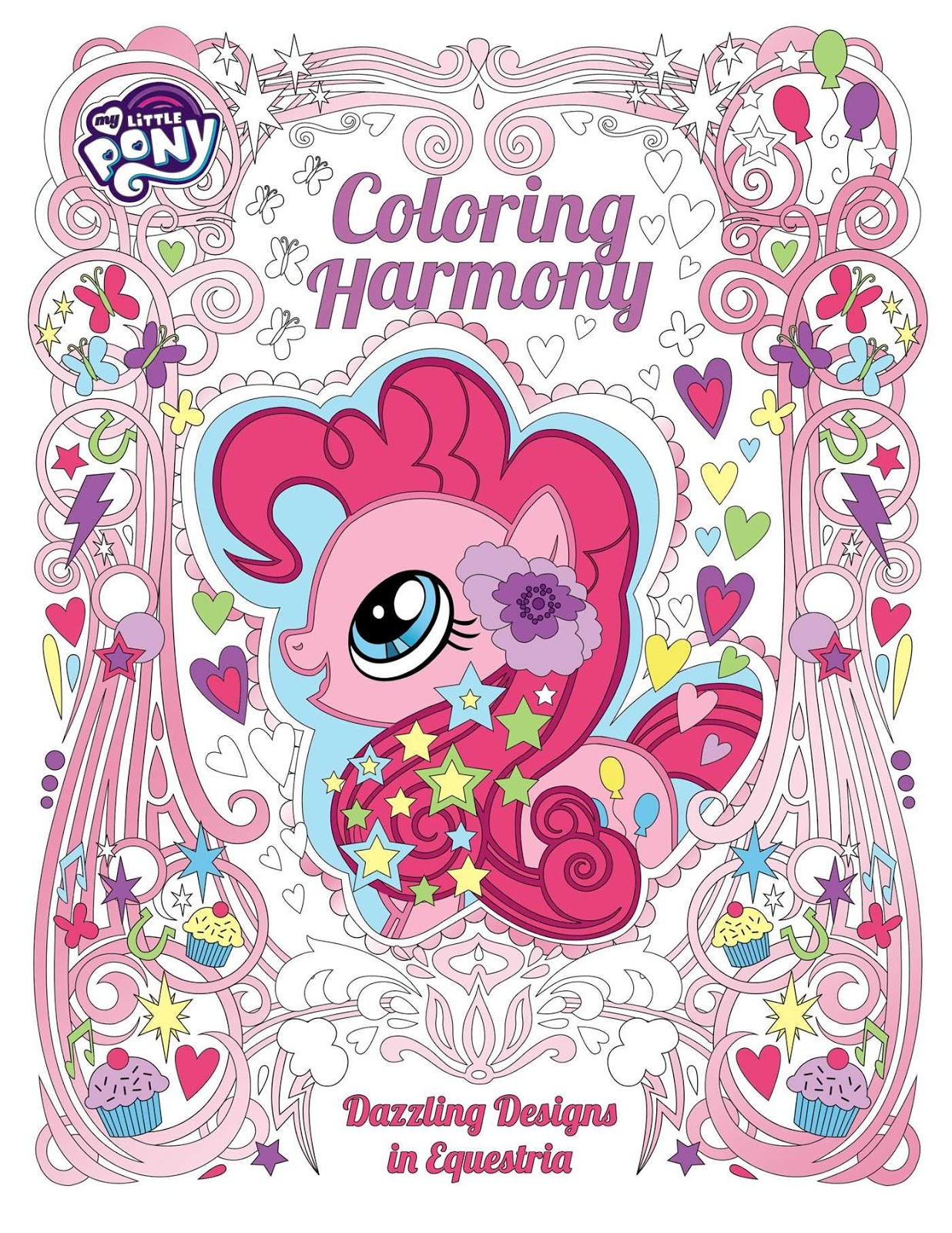 Horse News Hasbro Announces Adult My Little Pony Coloring Book