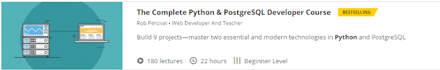 The Complete Python & PostgreSQL Developer Course