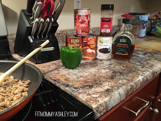 pumpkin, turkey, chili, easy, dinner, ground, clean, healthy, ingredients, simple