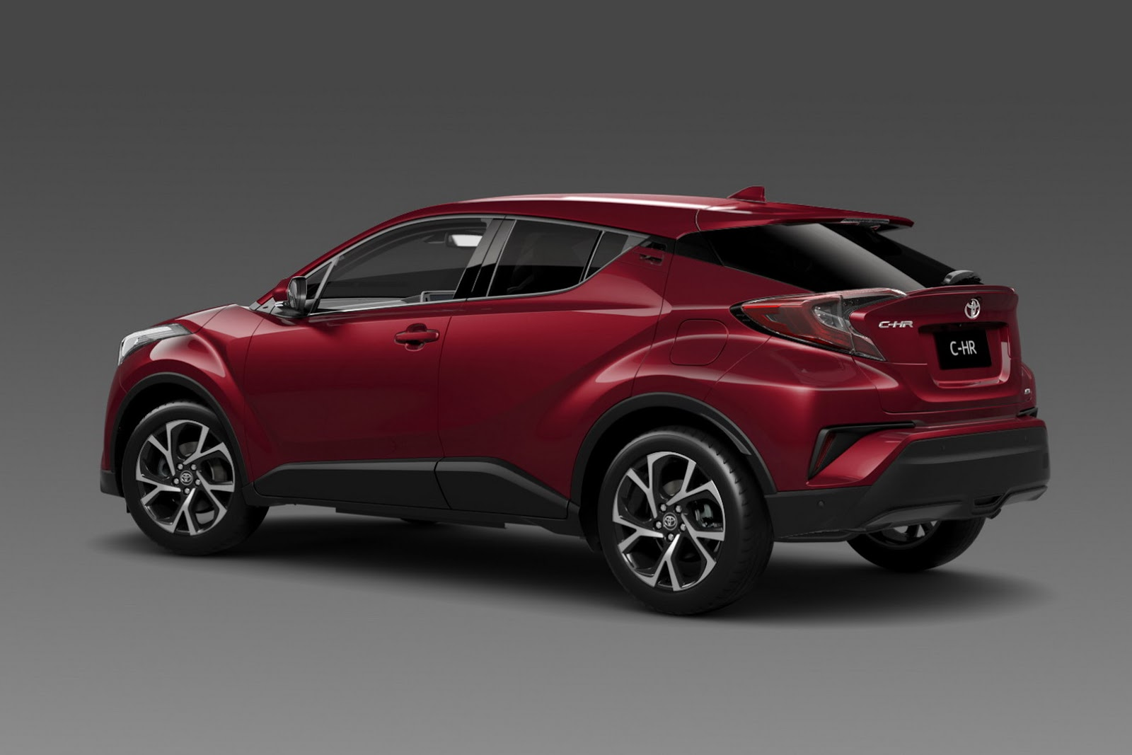 Check Out The 2017 Toyota C-HR Small Crossover In Fancier ...
