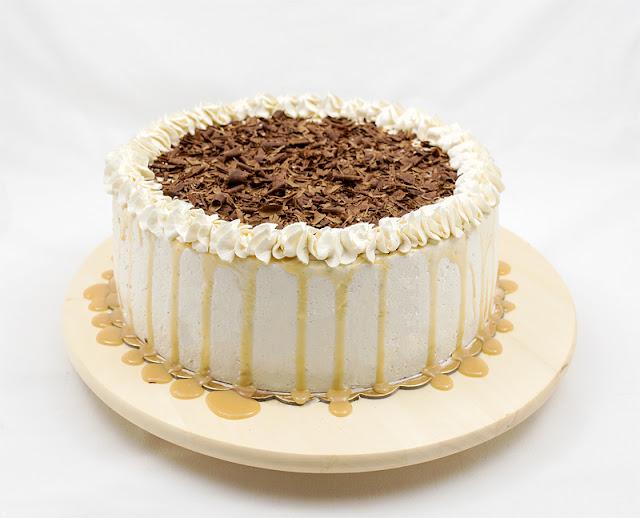 Karamelna torta recept fotka