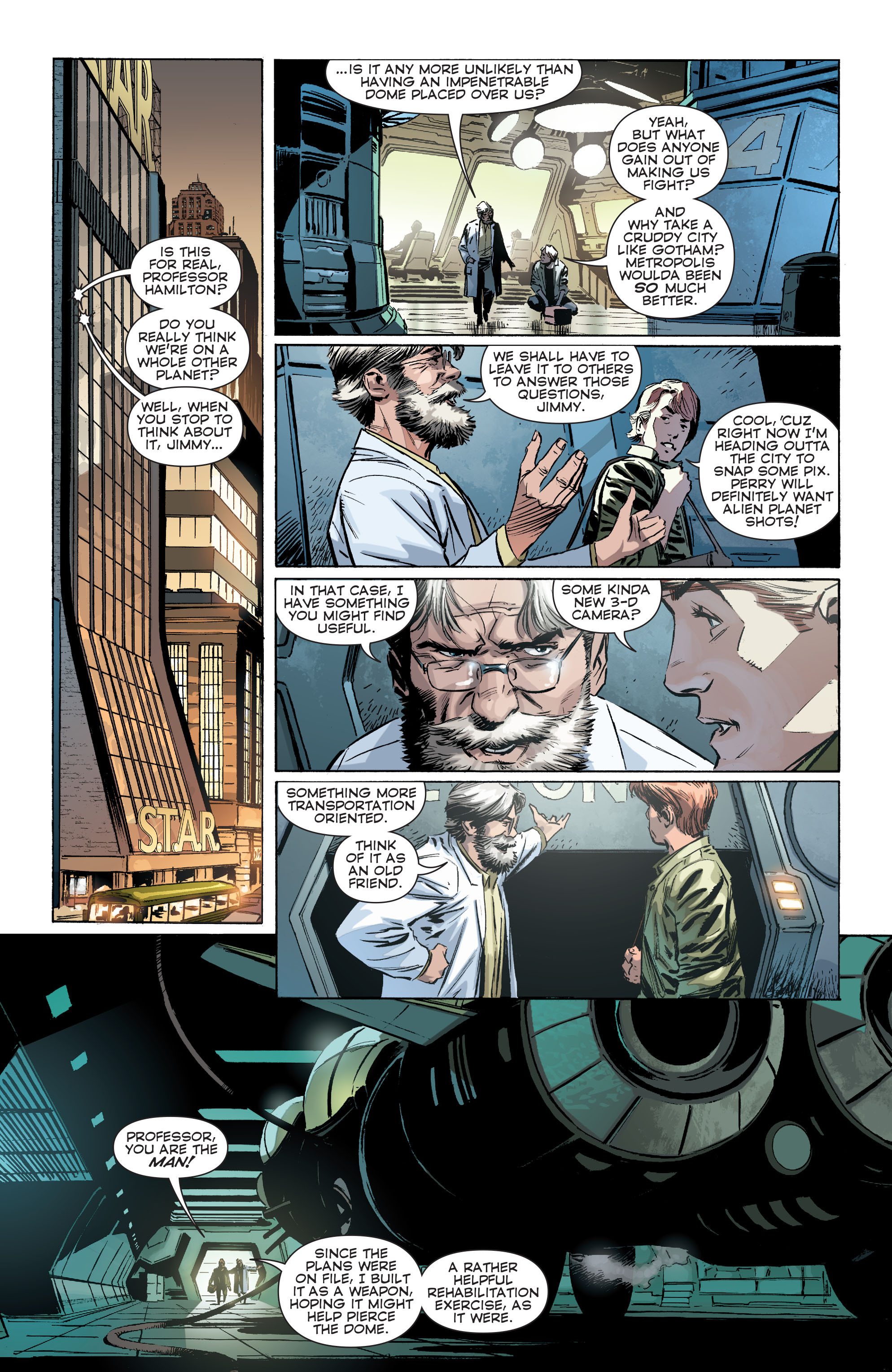 Read online Convergence Superman comic -  Issue #1 - 15