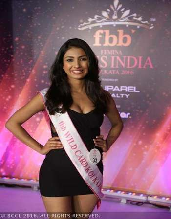 Poster Of Femina Miss India 24th April 2016 Main Event 300MB HDTV 480p Free Download Watch Online Worldfree4u