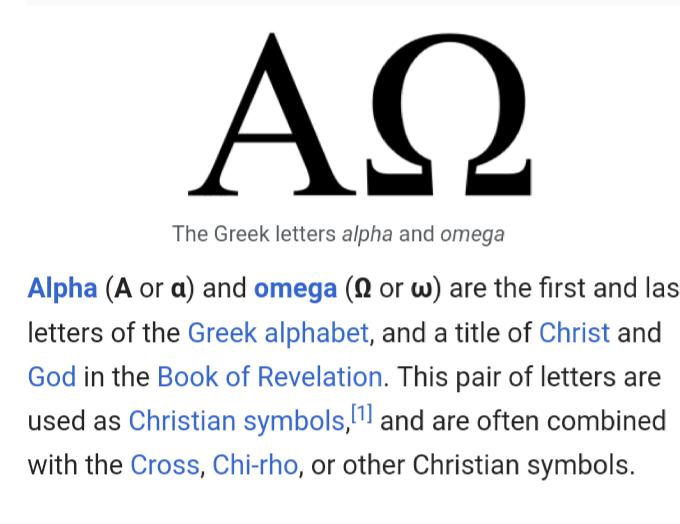 I Think Therefore I Am Alpha Omega 266273