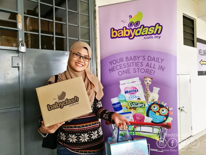 Shopping Barang Baby Di babydash.com.my