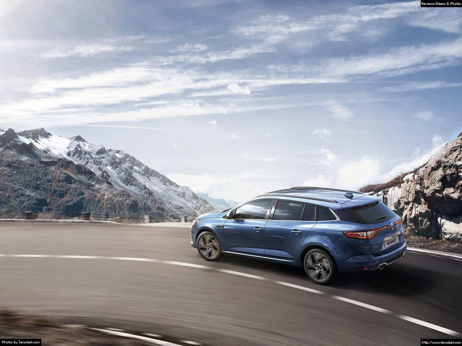 Hình ảnh xe ô tô Renault Megane Estate 2017 & nội ngoại thất