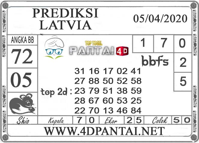 PREDIKSI TOGEL LATVIA PANTAI4D 05 APRIL 2020