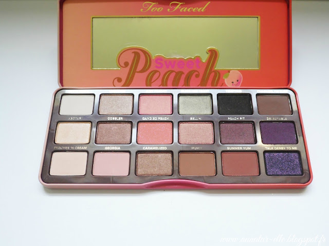 Palette Too Faced - Sweet peach