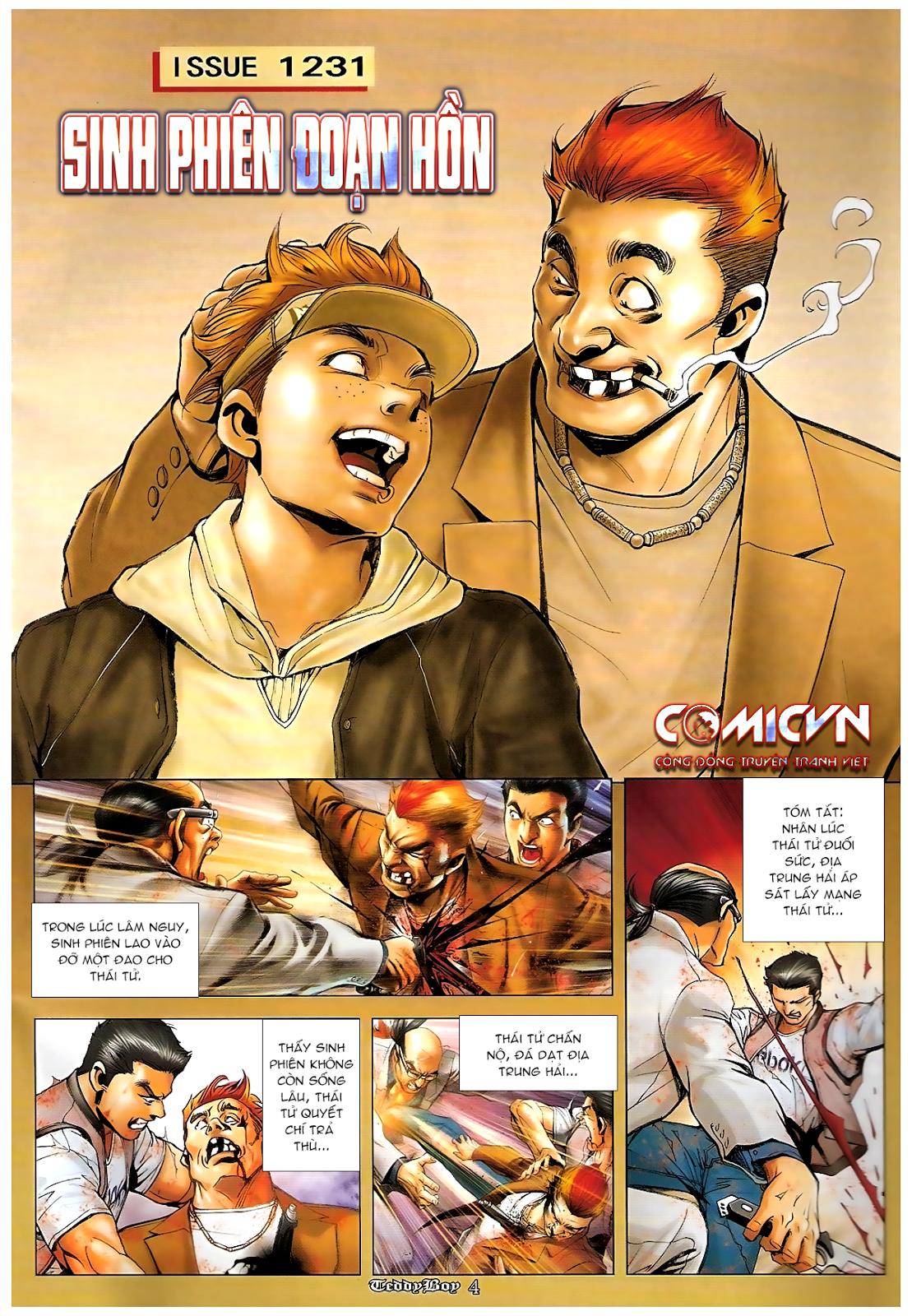Người Trong Giang Hồ - Chapter 1231: Sinh Phiên đoạn hồn - Pic 2